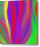 The Colors' Creation Metal Print by Daina White