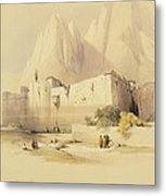 The Convent Of St. Catherine Metal Print by David Roberts