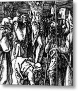 The Crucifixion Metal Print by Albrecht Durer