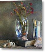 The Crystal Vase Metal Print by Diana Angstadt