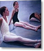 The Dance Class Metal Print by James Welch