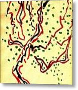 The Dancing Tree Metal Print by Cathy Peterson