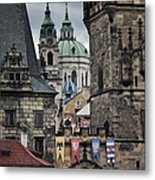 The Depths Of Prague Metal Print by Joan Carroll