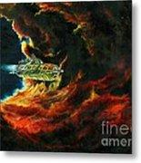 The Devil's Lair Metal Print by Murphy Elliott