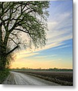 The Dirt Road Metal Print by JC Findley