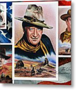 The Duke American Legend Metal Print by Andrew Read