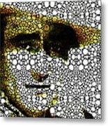 The Duke - John Wayne Tribute By Sharon Cummings Metal Print by Sharon Cummings
