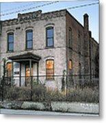The Duquesne Building - Spokane Washington Metal Print by Daniel Hagerman
