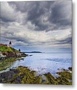 The Eastern Most Point In The U.s.a  Metal Print by Mircea Costina Photography