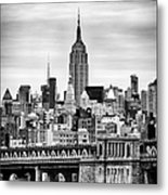 The Empire State Building Metal Print by John Farnan