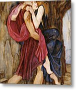The Escape Metal Print by John Roddam Spencer Stanhope