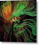 The Eye Of The Medusa Metal Print by Angela A Stanton