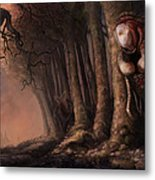 The Fabled Giant Women Of The Woods Metal Print by Ethan Harris