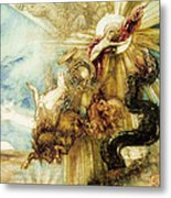 The Fall Of Phaethon Metal Print by Gustave Moreau