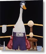 The Featherweight... Metal Print by Will Bullas