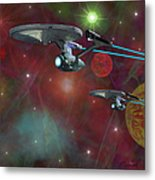 The Final Frontier Metal Print by Michael Rucker