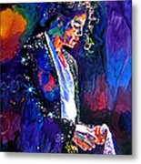 The Final Performance - Michael Jackson Metal Print by David Lloyd Glover