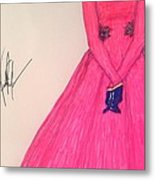 The First Lady/ Michelle Obama Metal Print by Vicki  Jones