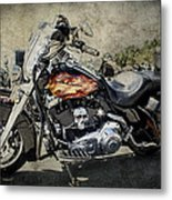 The Flame Metal Print by Jeff Swanson