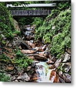 The Flume Metal Print by Heather Applegate
