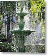 The Fountain Metal Print by Mike McGlothlen