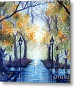 The Future Looks Bright Metal Print by Janine Riley