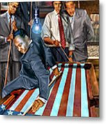 The Game Changers And Table Runners Metal Print by Reggie Duffie