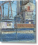 The Gate Metal Print by Donald Maier