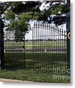 The Gate Metal Print by Roger Potts