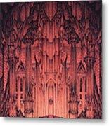 The Gates Of Barad Dur Metal Print by Curtiss Shaffer