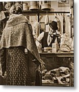 The General Store Metal Print by Priscilla Burgers