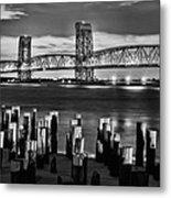 The Gil Hodges Bridge Metal Print by JC Findley