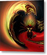 The Glory Of His Eminance Metal Print by Claude McCoy