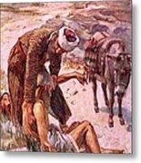 The Good Samaritan Metal Print by Harold Copping