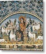 The Good Shepherd. 5th C. Italy Metal Print by Everett