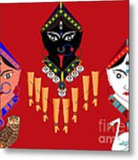 The Great Goddesses Metal Print by Pratyasha Nithin