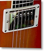 The Guitar Metal Print by David Patterson