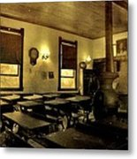 The Haunted Classroom Metal Print by Dan Sproul
