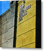 The Hollywood Heights Hotel Metal Print by Janice Rae Pariza