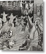 The Holocaust Metal Print by Dennis Nadeau