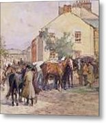 The Horse Fair  Metal Print by John Atkinson