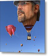 The Hot Air Surprise Metal Print by Mike McGlothlen