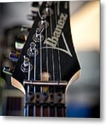 The Ibanez Guitar Metal Print by David Patterson