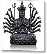 The Images Of Guanyin Black Metal Print by Tosporn Preede