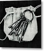 The Keys Metal Print by Marco Oliveira