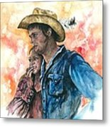 The King And His Queen Metal Print by Kim Whitton