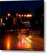 The Kingpins Rock The Night Away Metal Print by David Patterson