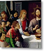 The Last Supper Metal Print by French School