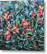 The Late Bloomers Metal Print by Xueling Zou
