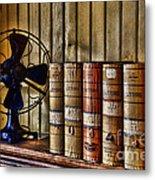 The Lawyers Desk Metal Print by Paul Ward